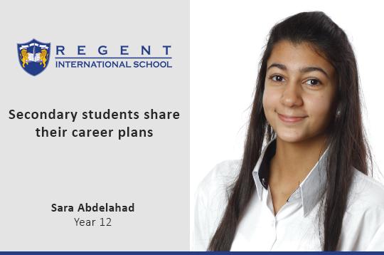 Secondary students share their career plans – Sara Abdelahad, Year 12