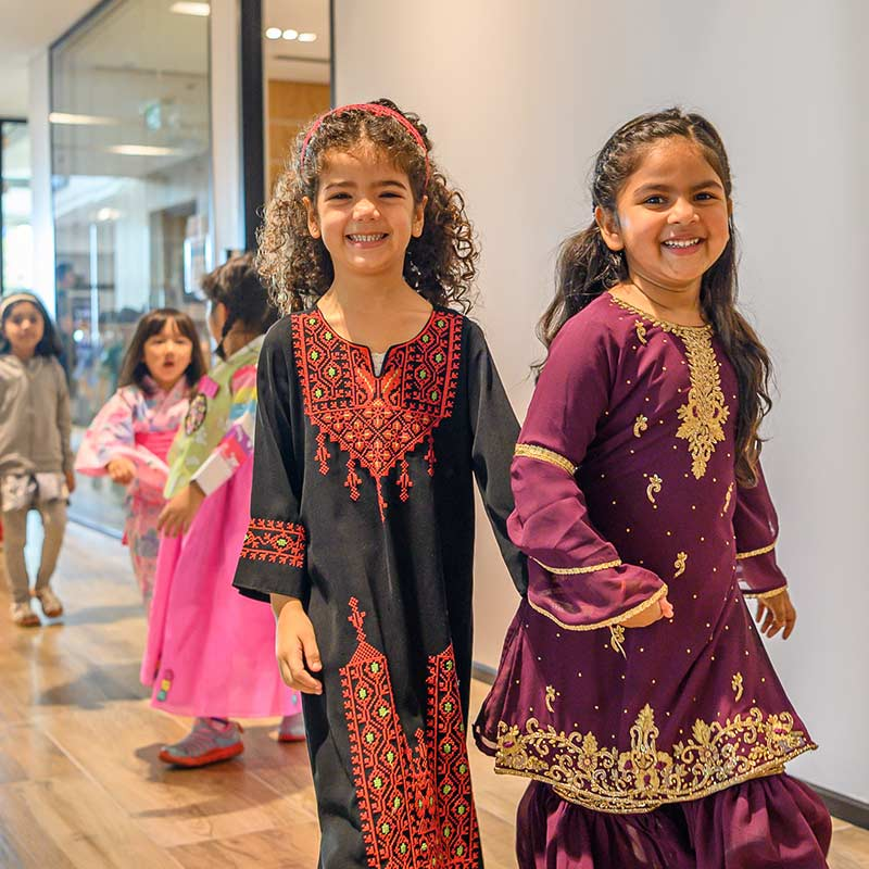 Regent International School beautiful lobby