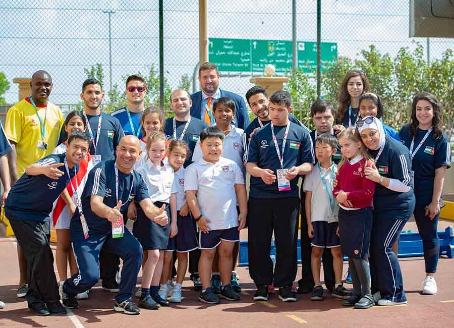 Regent International School Special Olympics Team Jordan