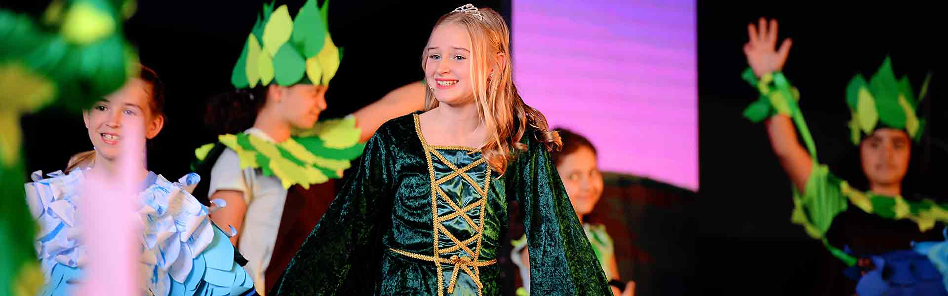 Regent International School Shrek Musical
