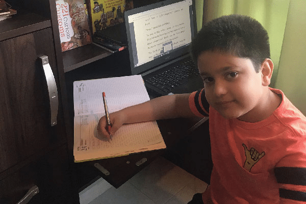 My 9-year-old son published a book!